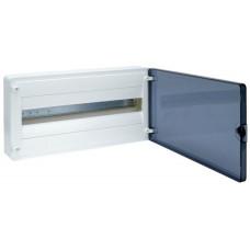 Щит наружной установки с прозрачной дверцей, 22 мод. (1х22), GOLF Hager VS122TD