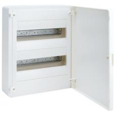Щит наружной установки с белой дверцей, 24 мод. (2х12), GOLF Hager VS212PD