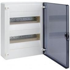 Щит наружной установки с прозрачной дверцей, 24 мод. (2х12), GOLF Hager VS212TD