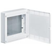 Щит 2-рядный для ММ-оборудования, н/у, белые пластиковые перфорированные двери, GOLF VS218PZF