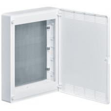 Щит 3-рядный для ММ-оборудования, н/у, белые пластиковые перфорированные двери, GOLF VS318PZF