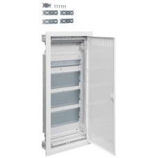 Щит 4-рядний для ММ-обладнання, в/у з металевими дверями, VOLTA Hager VU48NWB