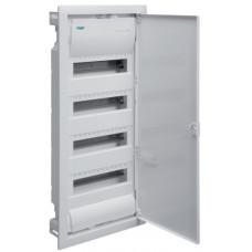 Щит на 48(56) модуля, внутрішнього встановлення з металевими дверцятами, без клем, VOLTA Hager VU48UA