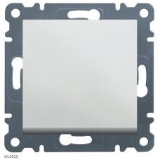 Выключатель проходной одноклавишный, белый, Lumina-2 Hager WL0020