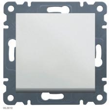 Кнопочный выключатель, 1-тактовый, белый, Lumina-2 Hager WL0110