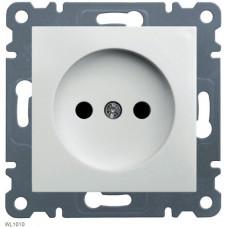 Розетка без заземления, белая, 16А/230В, Lumina-2 Hager WL1010