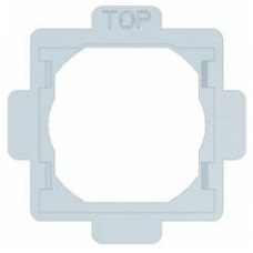 Комплект прокладок IP-44 для одинарних розеток, Lumina 2 Hager WL7023