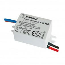 Блок живлення ADI 350 1-3W, 220-240 АС, IP20, Kanlux 1440