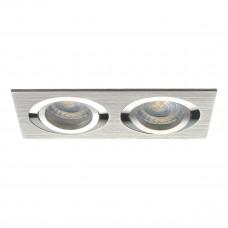 Светильник точечный SEIDY CT-DTL250-AL, 2xGx5.3, IP20, алюминий, Kanlux 18282