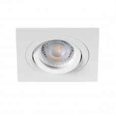 Светильник точечный SEIDY CT-DTL50-W/M, Gx5.3, IP20, белый матовый, Kanlux 19454