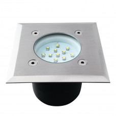 Светильник грунтовый GORDO LED14 SMD-L, 0.7W, 6500K, IP66, сталь, Kanlux 22051