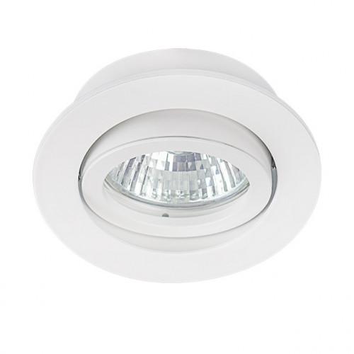 Светильник точечный DALLA CT-DTO50-W, Gx5.3, IP20, белый, Kanlux 22430