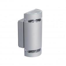 Светильник настенный ZEW EL-235U-GR, 2xGU10, IP44, серый, Kanlux 22443