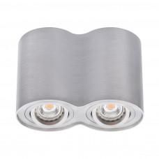 Светильник точечный BORD DLP-250-AL, 2xGU10, IP20, алюминий, Kanlux 22553