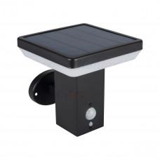 Світильник SOLCA L PV EL-B, 5Вт, 3.7V DC, 4000K, IP44, чорний, Kanlux 25774