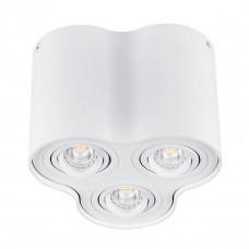 Світильник точковий BORD DLP-350-W, 3xGU10, IP20, білий матовий, Kanlux 25800