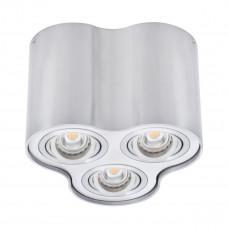Світильник точковий BORD DLP-350-AL, 3xGU10, IP20, алюміній, Kanlux 25802
