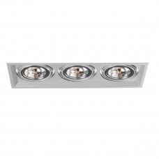 Світильник точковий ARTO 3L-SR, 3xG53, IP20, срібло, Kanlux 26616