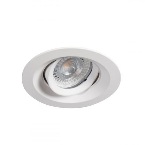 Светильник точечный COLIE DTO-W, Gx5.3/GU10, IP20, белый, Kanlux 26740