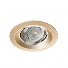 Світильник точковий COLIE DTO-G, Gx5.3/GU10, IP20, золотий, Kanlux 26741