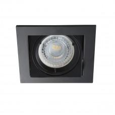 Світильник точковий ALREN DTL-B, Gx5.3/GU10, IP20, чорний, Kanlux 26754