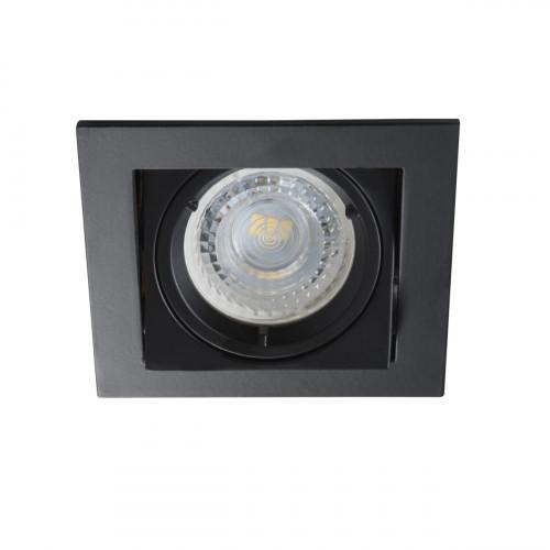 Светильник точечный ALREN DTL-B, Gx5.3/GU10, IP20, черный, Kanlux 26754