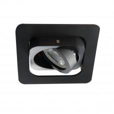 Світильник точковий ALREN R DTL-B, Gx5.3/GU10, IP20, чорний, Kanlux 26757