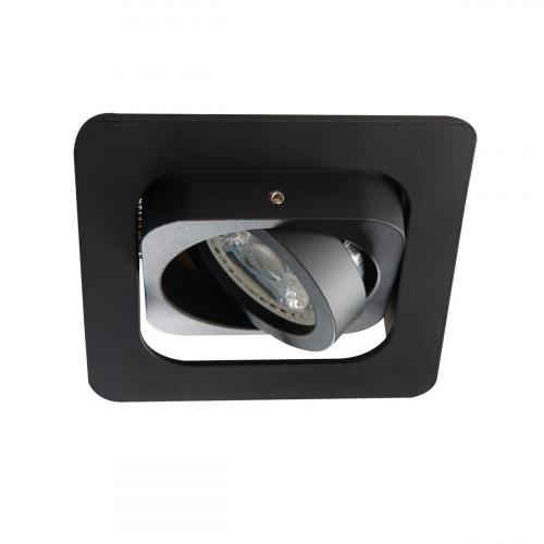 Светильник точечный ALREN R DTL-B, Gx5.3/GU10, IP20, черный, Kanlux 26757