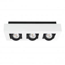 Світильник точковий STOBI DLP 350-W, 3xGU10, IP20, білий, Kanlux 26835