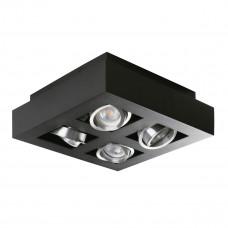 Світильник точковий STOBI DLP 450-B, 4xGU10, IP20, чорний, Kanlux 26836