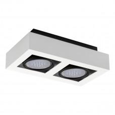Світильник точковий STOBI ES 250-W, ES-111, 2xGU10, IP20, білий, Kanlux 26839