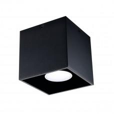 Светильник точечный ALGO CL-B, GU10, IP20, черный, Kanlux 27030