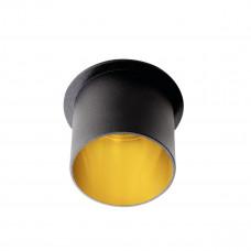 Светильник точечный SPAG L B/G, Gx5.3/GU10, IP20, черный/Золото, Kanlux 27320