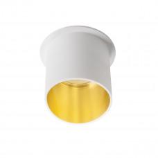 Светильник точечный SPAG L W/G, Gx5.3/GU10, IP20, белый/Золото, Kanlux 27321