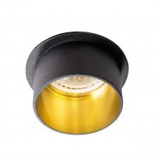 Светильник точечный SPAG S B/G, Gx5.3/GU10, IP20, черный/Золото, Kanlux 27322
