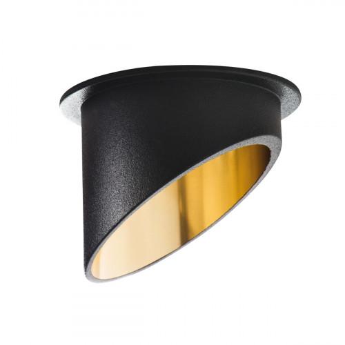 Светильник точечный SPAG C B/G, Gx5.3/GU10, IP20, черный/Золото, Kanlux 27324