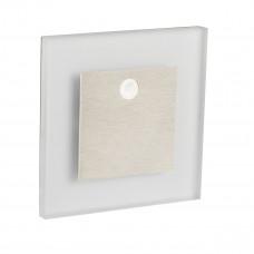 Світильник APUS LED PIR, 0.8W, 12V DC, 3000K, IP20, нерж.сталь, з датч., Kanlux 27370