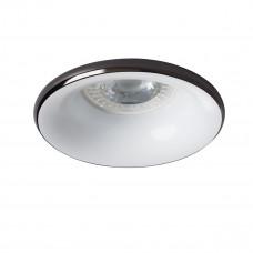 Светильник точечный ELNIS S A/W, Gx5.3/GU10, IP20, атрацит/белый, Kanlux 27802