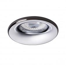 Светильник точечный ELNIS S A/C, Gx5.3/GU10, IP20, антрацит/хром, Kanlux 27803