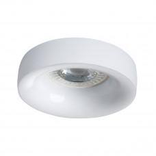 Светильник точечный ELNIS L W, Gx5.3/GU10, IP20, белый, Kanlux 27804