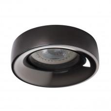 Светильник точечный ELNIS L A, Gx5.3/GU10, IP20, антрацит, Kanlux 27809