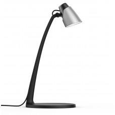 Настольная лампа SARI LED B-SR, 4.5W, 3000K, IP20, черный/серебро, Kanlux 27981