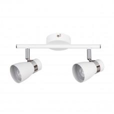 Світильник спот ENALI EL-2I-W, 2xGU10, IP20, білий, Kanlux 28762