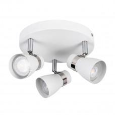Світильник спот ENALI EL-3O-W, 3xGU10, IP20, білий, Kanlux 28764