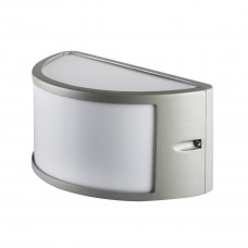 Світильник настінний SHARK N EL-60, E27, IP44, сірий, Kanlux 29060