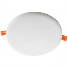 Світильник точковий AREL LED DO 25W-NW, 3000K, IP65/20, білий, Kanlux 29597