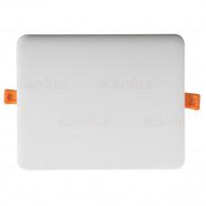 Світильник точковий AREL LED DL 25W-NW, 3000K, IP65/20, білий, Kanlux 29599