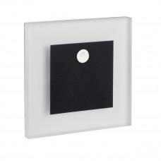 Світильник APUS LED PIR, 0.8W, 12V DC, 4000K, IP20, чорний, з датч., Kanlux 29856