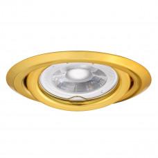 Світильник точковий ARGUS CT-2115-G, Gx5.3, IP20, золотий, Kanlux 304