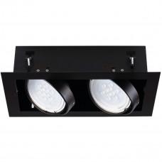 Світильник точковий MATEO ES DLP-250-B, 2хGU10, IP20, чорний, Kanlux 32932
